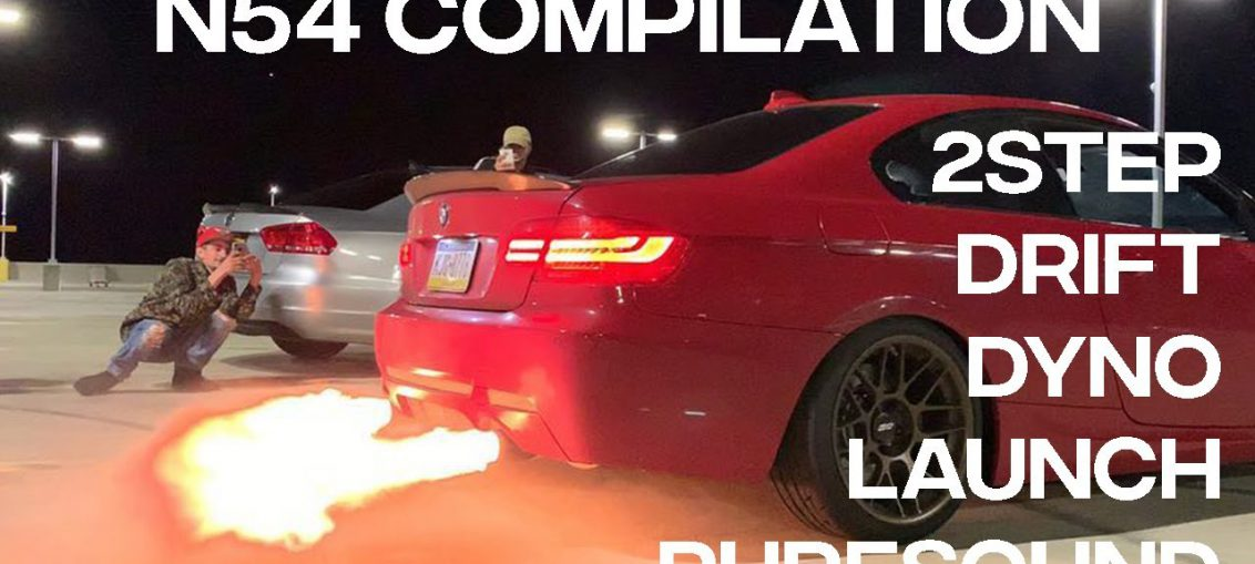 BMW N54 COMPILATION - Pure Sound, 2Step, Single Turbo