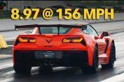 2019 ZR1 Corvette 1/4 Mile
