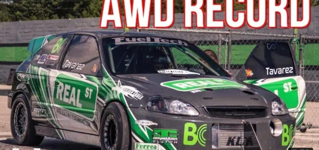 Civic Breaks AWD Honda Record