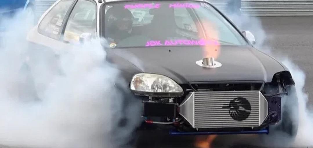 10 Second Honda Civic EK