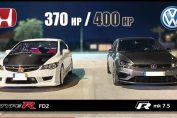Golf R MK7.5 vs Type R