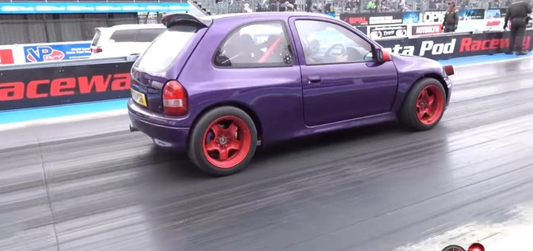4WD Vauxhall Corsa