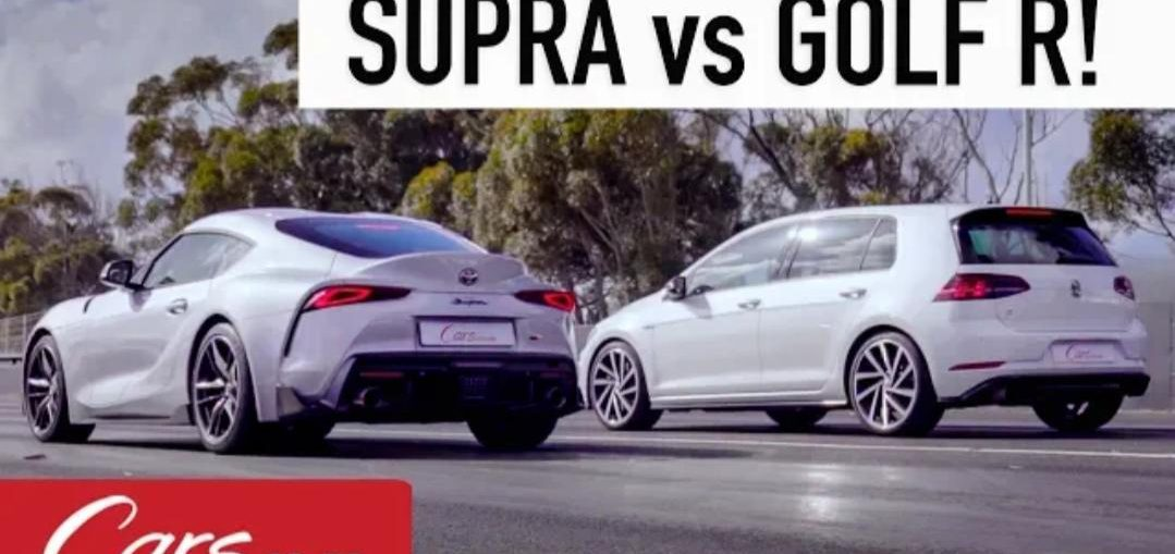 Toyota Supra vs VW Golf R