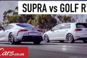 Toyota Supra vs VW Golf R