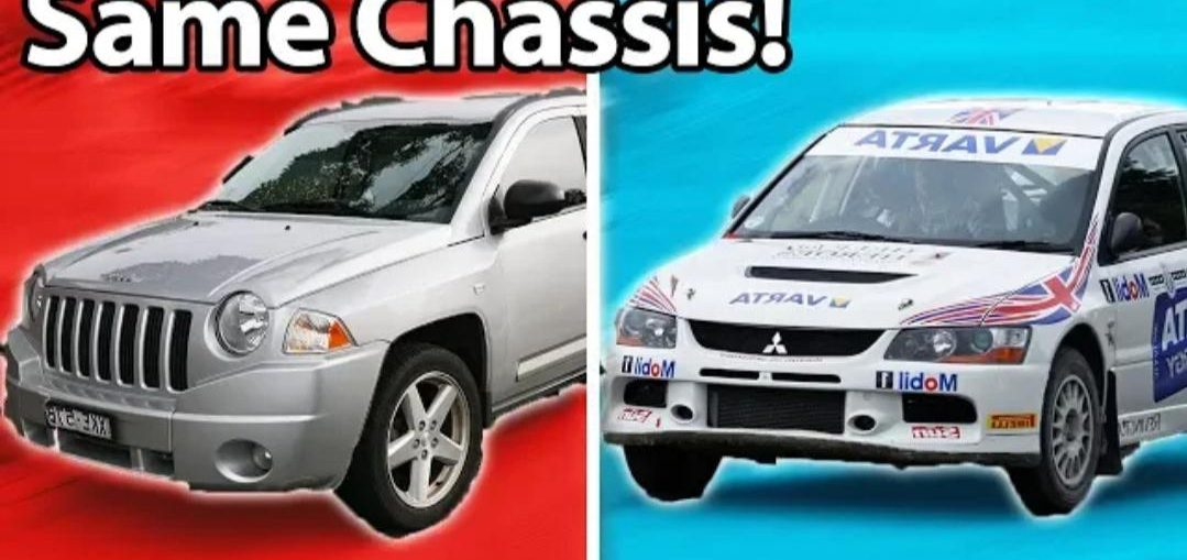 Cars You'd Never Guess Shared The Same Chassis