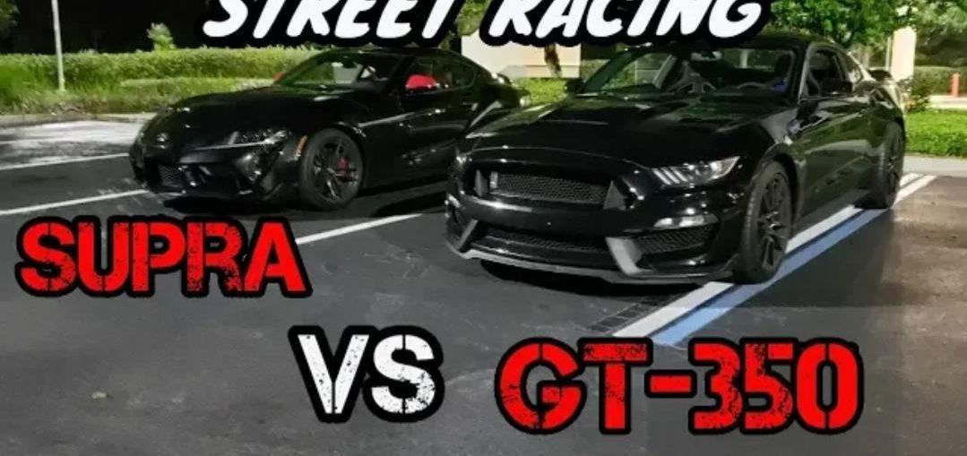 MK5 Toyota Supra VS Shelby GT-350