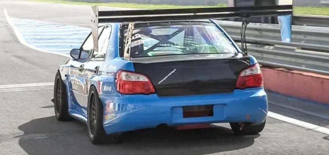Twin Turbo Subaru BMW Z4 GT3