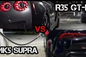MK5 SUPRA VS R35 NISSAN GT-R