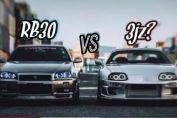 SUPRA vs GT-R R34