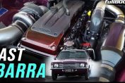 Cortina with a Ford Barra turbo
