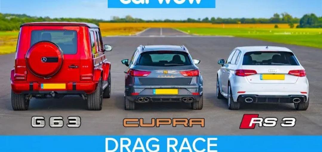 AMG G63 vs Audi RS3