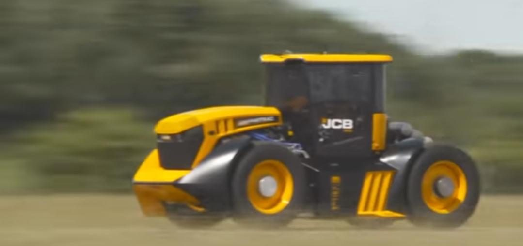 Turbocharged Fastest Tractor
