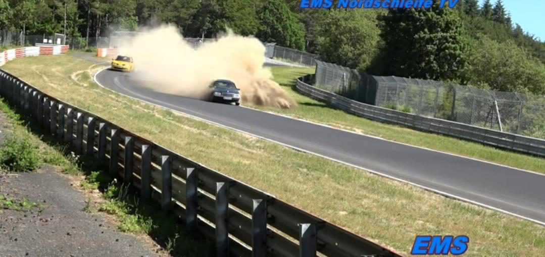 Lucky drivers nurburgring