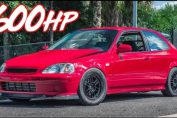 600HP Civic Turbo