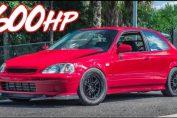 600HP Civic Turbo