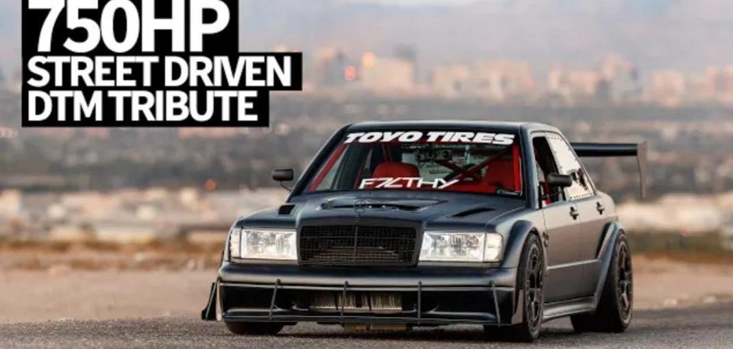 dtm inspired twin turbo v8