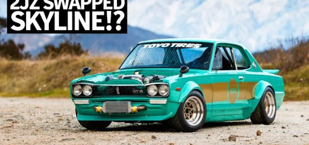 Toyota 2jz swapped