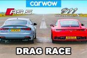 Audi RS5 VS porsche 911