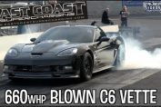 blown c6 corvette