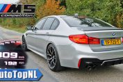 2020 BMW M5 F90 Competition 0-309KMH 0-192MPH ACCELERATION TOP SPEED