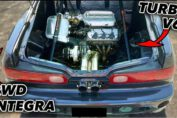 Rear Engine Integra