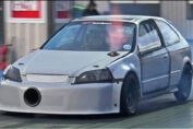 Honda Civic Drag Racing