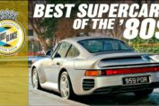 Supercars of the 80's