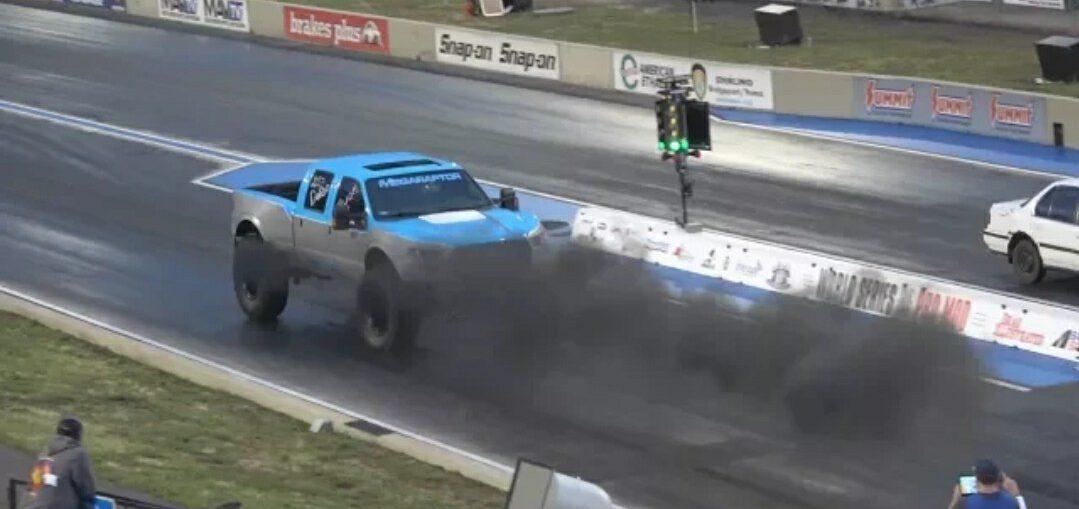 Reverse drag racing