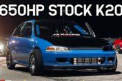 Stock K20 Turbo