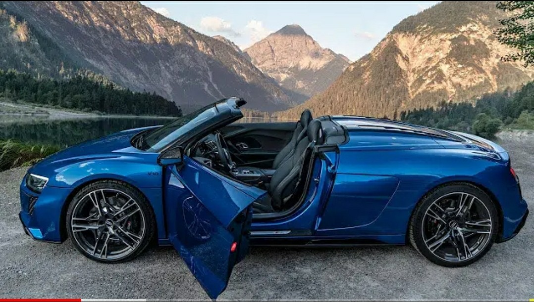 2021 AUDI R8 V10 RWD SPYDER - Droptop Rear Wheel Drive ...