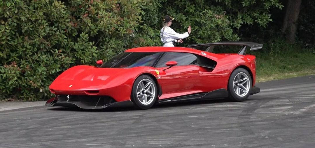 Ferrari P80/C Hypercar