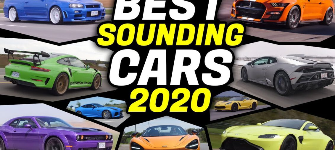 BEST Sounding Cars 2020 - PURE SOUND!