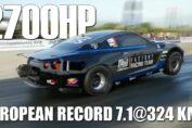 GT-R R35 European RECORD
