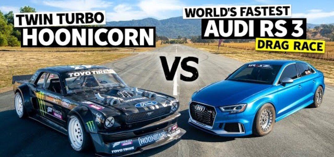 AWD Audi RS3 Vs Ken Block