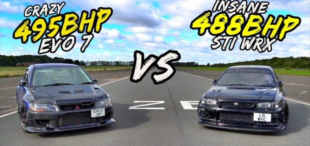MITSUBISHI EVO 7 VS IMPREZA WRX STI
