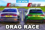 Audi S8 vs Audi RS6