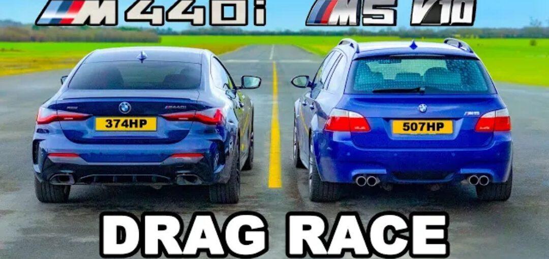 BMW M5 V10 Touring vs BMW M440i