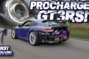 First Ever Procharged Porsche GT3 RS SCREAMS to 9,000RPM! (BEST SOUNDING Porsche EVER?!)