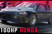 1100HP Honda CRX Del Sol Turbo
