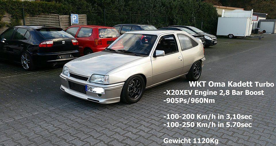 Kadett Turbo WKT