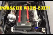 Porsches with crazy swaps K20 Vr6 2JZ 4G63