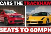 7 Cars The Jeep Grand Cherokee Trackhawk Can Beat To 60mph