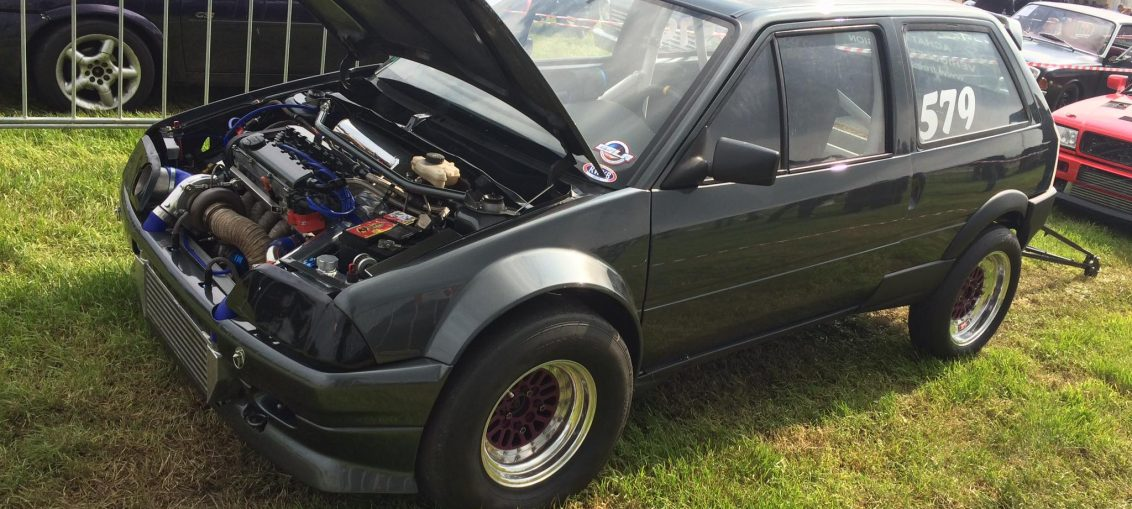 Citroen AX with GTX-3582 and sequential Dogbox!