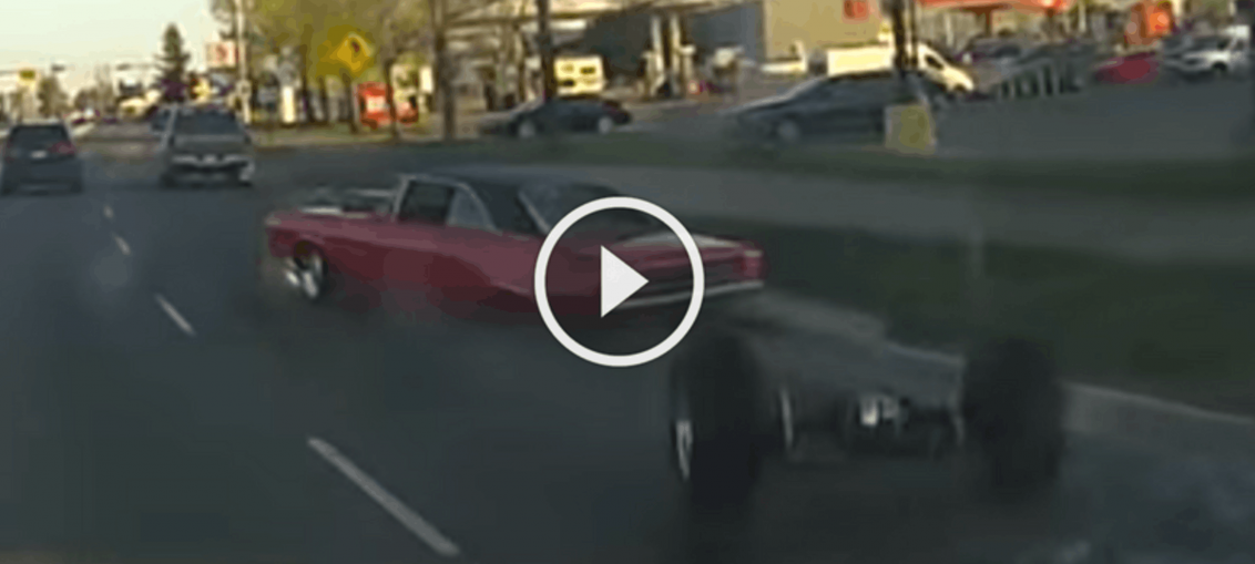 Dodge Dart Loses Axle
