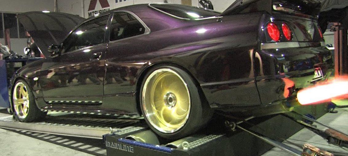 Supra Skyline Dyno big Turbo