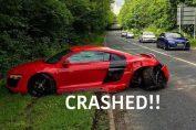 Audi R8 V10 Crash