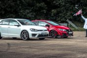 Golf R vs Civic Type R