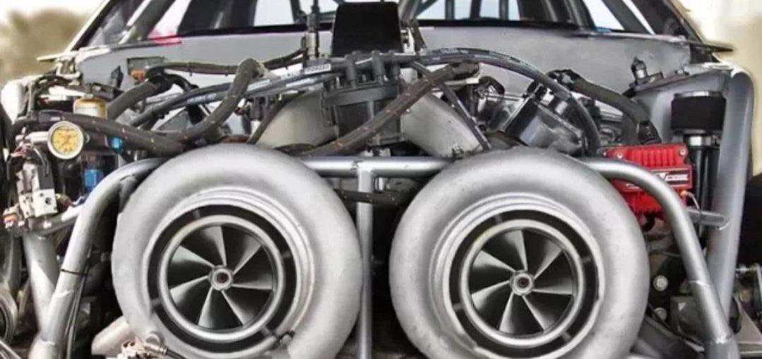 Massive twin 88mm Turbos
