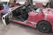Spanish Police busted fake ferrari Lamborghini Kitcars