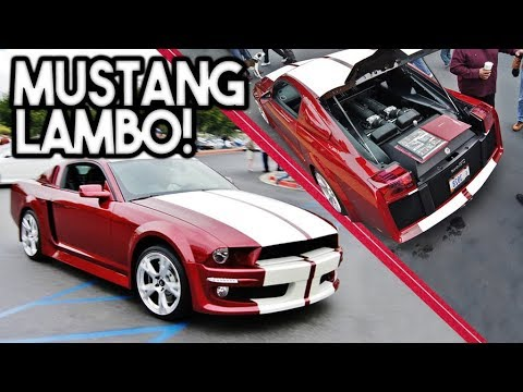 Lamborghini Swapped Mustang